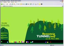 Beschreibung von www.tunnellauf.de