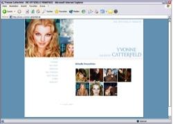 Beschreibung von www.yvonne-catterfeld.de