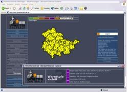 Beschreibung von www.unwetterzentrale.de