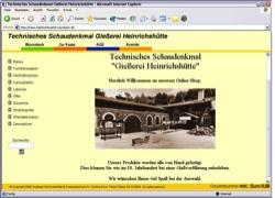 Beschreibung von www.heinrichshuette-wurzbach.de