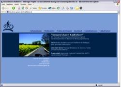 Beschreibung von www.gesund-durch-radfahren.de