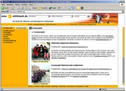 Website in neuem Fenster öffnen - Direktbank prüft Geldanlagen auf ethische und ökologische Standards
