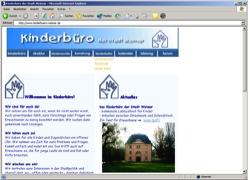 Beschreibung von www.kinderbuero-weimar.de