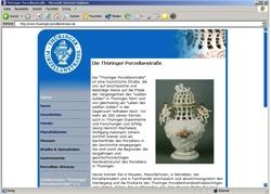 Beschreibung von www.thueringer-porzellanstrasse.de