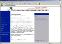 Beschreibung von www.verfassungsschutz.thueringen.de