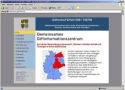 Beschreibung von www.ggiz-erfurt.de