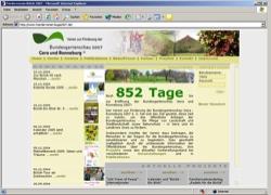 Beschreibung von www.foerderverein-buga2007.de