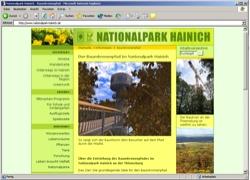 Beschreibung von www.nationalpark-hainich.de