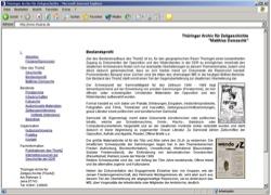 Website in neuem Fenster öffnen - Thüringer Archiv für Zeitgeschichte sammelt Originaldokumente aus der DDR