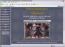 Website in neuem Fenster öffnen - Dampflok-Sonderzug fährt zum großen Hammerfest nach Ohrdruf