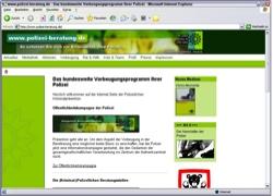 Website in neuem Fenster öffnen - Hilfe und Vorbeugetipps zu Gewalt, Raub und Internetstraftaten