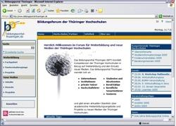 Beschreibung von www.bildungsportal-thueringen.de