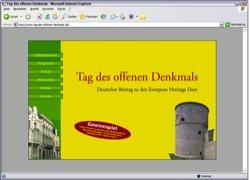 Beschreibung von www.tag-des-offenen-denkmals.de