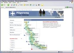Website in neuem Fenster öffnen - Wanderroute zwischen den Klöstern in Loccum und  Volkenroda