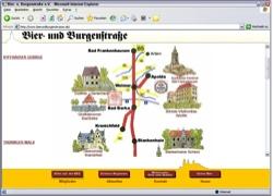 Website in neuem Fenster öffnen - B85 führt zu historischen Gemäuern und  regional Gebrautem