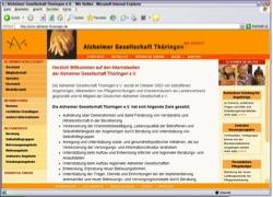 Beschreibung von www.alzheimer-thueringen.de