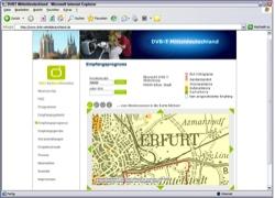 Website in neuem Fenster öffnen - Ab Montag sendet das Überallfernsehen DVB-T  in Thüringen