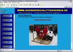 Beschreibung von www.hoernerschlittenverein.de