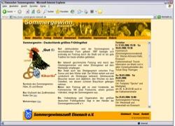 Website in neuem Fenster öffnen - Größtes Frühlingsfest diesmal kombiniert mit  Sängerkrieg