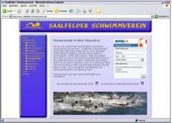 Beschreibung von www.saalfelder-schwimmverein.de