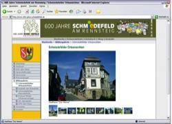 Beschreibung von www.600-jahre-schmiedefeld.de