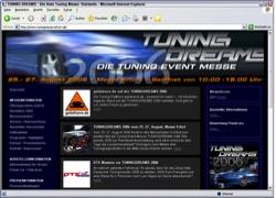 Beschreibung von www.tuningmesse-erfurt.de