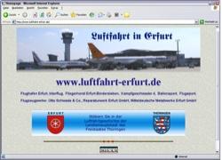 Beschreibung von www.luftfahrt-erfurt.de