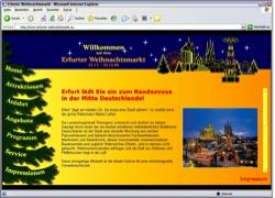 Website in neuem Fenster öffnen - Weihnachtsmänner, Chorauftritte und Fotos  als Lockmittel
