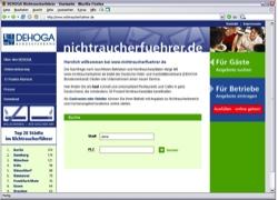 Beschreibung von www.nichtraucherfuehrer.de
