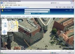 Website in neuem Fenster öffnen - Karten- und Satellitenfotoseite zeigt Thüringer Städte so nah  wie nie zuvor