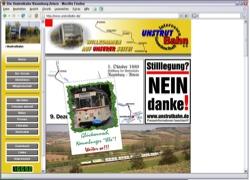 Beschreibung von www.unstrutbahn.de