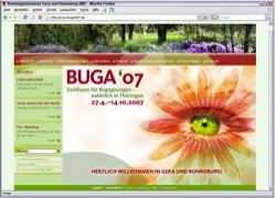 Beschreibung von www.buga2007.de
