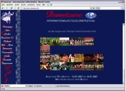 Website in neuem Fenster öffnen - Volkstänze und Trachten aus neun Ländern bringen Erfurt in  Schwung