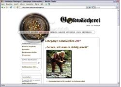Beschreibung von www.goldsuche-thueringen.de