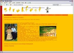 Beschreibung von www.strohfest.info