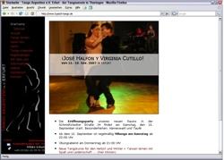 Beschreibung von www.typisch-tango.de