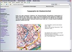 Beschreibung von www.stasi-in-erfurt.de