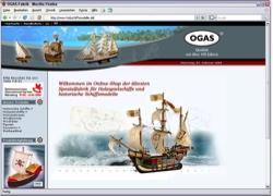 Beschreibung von www.holzschiffsmodelle.de