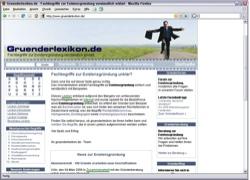 Beschreibung von www.gruenderlexikon.de