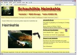 Beschreibung von www.hoehle-heimkehle.de