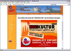 Beschreibung von www.thueringer-wurst.de