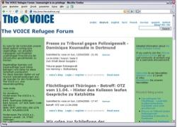 Beschreibung von www.thevoiceforum.org