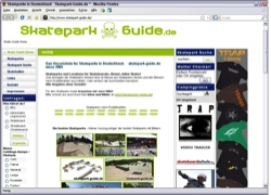 Beschreibung von www.skatepark-guide.de