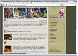 Beschreibung von www.sandsteinhoehle.de