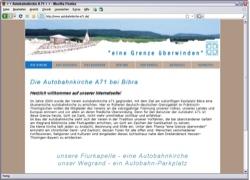 Beschreibung von www.autobahnkirche-a71.de