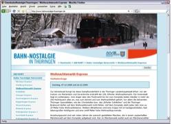 Website in neuem Fenster öffnen - Sonderfahrten zu Weihnachtmärkten und zum  Wintersport