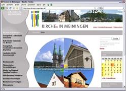 Website in neuem Fenster öffnen - Vier Glaubensgemeinschaften teilen sich einen Internetauftritt