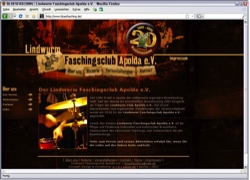 Beschreibung von www.bluesfasching.de