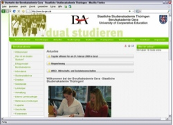 Website in neuem Fenster öffnen - Staatliche Berufsakademie lädt am heutigen Samstag zum  Informationstag