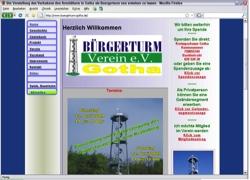 Website in neuem Fenster öffnen - Mit vielen Spenden ist in Gotha ein Aussichtsturm  entstanden